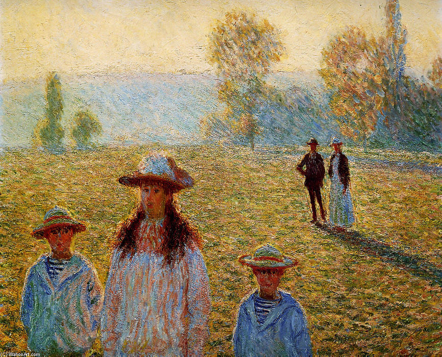 the life and works of claude monet the father of impressionalism Monet: the father of impressionism--his life in paintings [dk publishing] on amazoncom free shipping on qualifying offers traces the life of the impressionistic painter, analyzes his works, and explains the historical and social context of his painting.